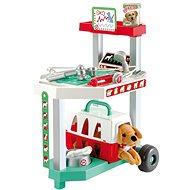 Ecoiffier Állatorvosi kocsi kutyával - Játék szett