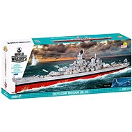 Cobi World of Warships Missouri BB-63 csatahajó - Építőjáték