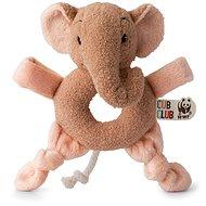 Ebu elefánt, rózsaszín - csörgő - Csörgő
