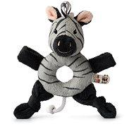 Ziko zebra, szürke - csörgő - Csörgő