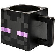 Minecraft Enderman műanyag bögre - Játék edények