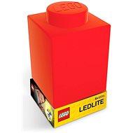 LEGO Classic Szilikon kocka - piros - Éjszakai fény
