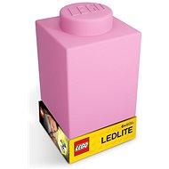 LEGO Classic Szilikon kocka - rózsaszín - Éjszakai fény