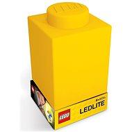 LEGO Classic szilikon kocka, sárga - Éjszakai fény