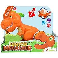 Junior Megasaur: T-Rex - narancssárga - Interaktív játék