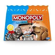 Monopólium macskák vs kutyák - Társasjáték