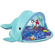 Explore&Go játszószőnyeg UPF 50 szűrővel - bálna - Játszószőnyeg