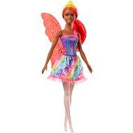 Barbie Varázslatos tündér narancssárga hajjal - Játékbaba