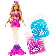 Sellő Barbie csillogó slime-mal - Baba