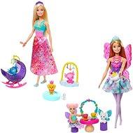 Tündér Barbie baba játékszett - Játékbaba