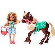 Barbie Chelsea és póni - Játék szett