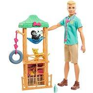 Barbie Karrierbabák - Ken állatorvos Afrikában