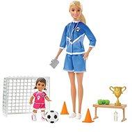 Barbie Szőke fociedző babával szett - Baba