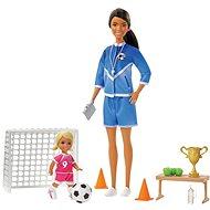 Barbie Szett Fociedző babával - Baba