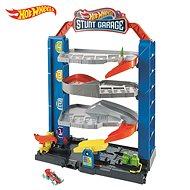 Hot wheels City hordozható garázs - Játék szett