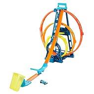 Hot Wheels Track Builder Hármas hurok - Játék szett
