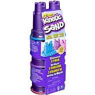 Kinetic Sand - 3 db pasztellszínű tégely - Kreatív szett