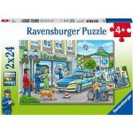 Ravensburger 050314 Rendőrségi nyomozás, 2x24 darabos