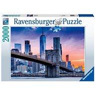 Ravensburger 160112 New York felhőkarcolókkal, 2000 darabos - Puzzle