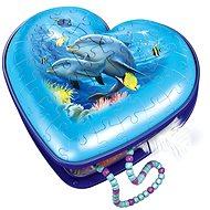 Ravensburger 111725 Szív Víz alatti világ, 54 darabos - Puzzle
