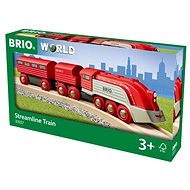 Brio World 33557 Streamline aerodinamikus vonat - Kisvasút