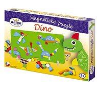 Mágneses puzzle - Dinoszauruszok - Fajáték
