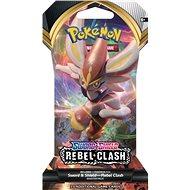 Pokémon TCG: SWSH02 Rebel Clash 1 Blister Booster - Kártyajáték