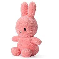 Miffy Sitting Terry Pink 23cm - Plüssjáték