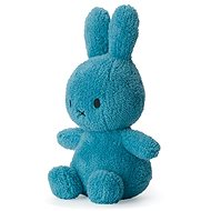 Miffy Sitting Terry Ocean Blue 23cm - Plüssjáték