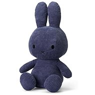 Miffy Sitting Corduroy Blue 50cm - Plüssjáték