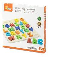 Fa puzzle - betűk - Kirakós játék