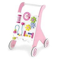 Fa járássegítő, rózsaszínű - Bébikomp