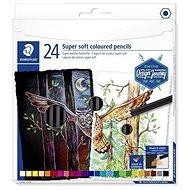 Staedtler Design Journey Super Soft Színes ceruza készlet - 24 szín - Színes ceruzák