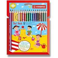 Stabilo Trio Thick - 18 szín - Színes ceruzák