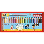 STABILO Woody 18 szín, kerek, maxi, STABILO - Színes ceruza