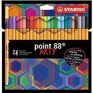 Stabilo Point 88 ARTY 24 szín - Filctoll
