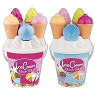 Androni Fagylaltos homokozó készlet - közepes, rózsaszín - Homokozó készlet