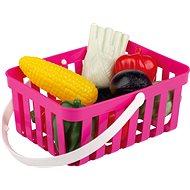 Androni zöldségkosár - 10 darab, rózsaszín - Szett