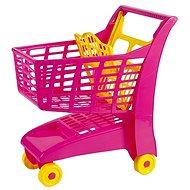 Androni Bevásárlókocsi gyereküléssel - rózsaszín - Kocsi
