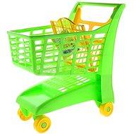 Androni Bevásárlókocsi üléssel - zöld - Játék kocsi