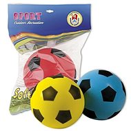Androni Soft labda - átmérője 20 cm, kék - Labda gyerekeknek