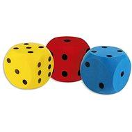 Androni Kocka, puha - mérete 16 cm, sárga - Labda gyerekeknek
