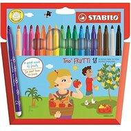 Stabilo Trio Frutti 18 szín - Filctoll