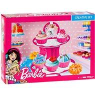 Barbie - Színes gyurma - Torta készlet - Gyurma