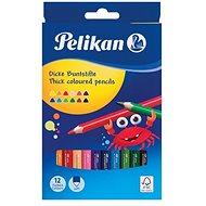 Pelikan 12 színű háromszög alakú - Színes ceruzák