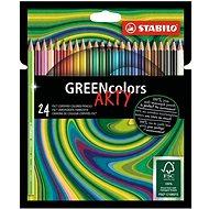 Stabilo GreenColors ARTY 24 szín - Színes ceruzák