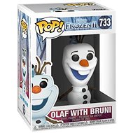 Funko POP Disney: Frozen 2 - Olaf with Bruni - Figura