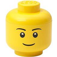 LEGO tárolófej (mini) - fiú - Tároló doboz