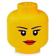 LEGO tárolófej (mini) - lány