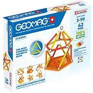 Geomag Classic 42 - Mágneses építőjáték